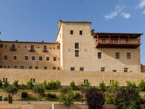 Una de las vistas del imponente edifio del Hotel Eurostars